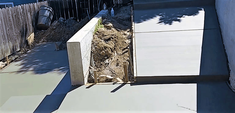concrete entryway ramp construction Las Vegas NV