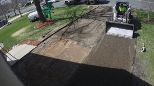Las Vegas Concrete Driveway Installation